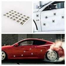 One sheet Bullet Hole Shot Hole Sticker Decal For Car Laptop Window Mirror