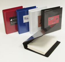 A5 and A6 ring binders black- white -red - blue with 50 sheets conqueror paper