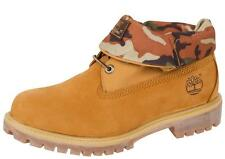 [6835A] TIMBERLAND ICON ROLL TOP LEATHER WHEAT CAMO MEN'S SIZE 7 TO 12 NIB