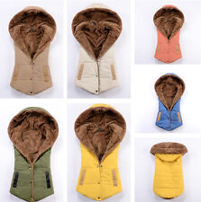 Women New Casual Fashion Hooded Warm Coral Fleece Vest Waistcoat Plus Size 3XL
