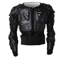Black Motorcycle Armor Black Jacket Body Protection Armour Motocross Gear