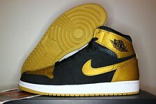Nike Air Jordan Retro I 1 High MELO Black Gold OG Carmelo 332550-026 Men & Youth