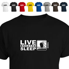 Pottery Wheel Potter'S Gift T Shirt Eat Live Breathe Sleep Throw 011
