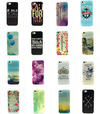 Hot Quote Saying Soft TPU Silicone Back Case Cover Protector for iPhone 4S 5S 6G