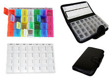 7 DAY PILL WALLET BOXES TABLET HOLDER MEDICINE DISPENSER ORGANISERS TABLETS CASE
