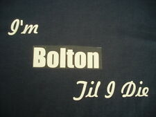 Football Bolton Wanderers T-Shirt or Sweat Shirt Inc 4XL & 5XL Personalised Gift