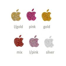 Crystal Glitter Pearl Apple logo accessory Skin Sticker For iPhone 6/5/5S/4/4S