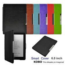 Auto Sleep Magnetic Leather Case Smart Cover For KOBO AURA HD 6.8 inch eReader