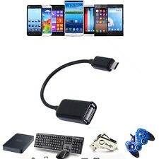 USB 2.0 Host OTG Adaptor Adapter Cable Cord For Sophix Tab-840G Android Tablet