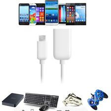 USB 2.0 Host OTG Adaptor Adapter Cable Cord For Sophix Tab-1040G Android Tablet