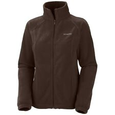 "WOMEN'S COLUMBIA NEW ""Benton Springs"" FULL ZIP FLEECE JACKET SZ: 1X-2X-3X"