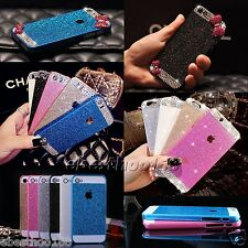 Luxury Bling Glitter Hard Plastic PC Back Case Cover for iPhone 6  4S 5S plus