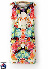 Womens Sexy Floral Mini Cocktail/Club/Races Ladies Hot Dress