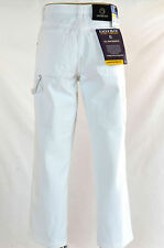 Men Eagle blue jeans relaxed Classic straight painter White Carpenter Denim jean