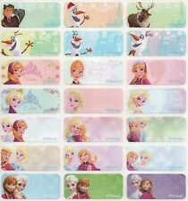 96pcs Medium Frozen Personalised Name Stickers, Name Labels, 30x13mm, Waterproof