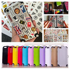 Suitcase Luggage Shape Candy DIY Case Cover For iPhone and Samsung+Free Stickers