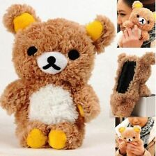 Cute 3D Teddy Bear Cool Plush Toy Doll Cover Case For Apple iPhone 6 6 Plus 5.5""