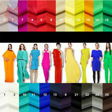 Solid color 100%silk fabric,crepe-de-chine fabric with 14mm thickness SP868