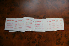vintage monopoly property/mortgage card [ one card ] [spares]  choice listing
