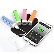 2600mAh Portable Mobile External Battery Charger for Power Bank Samsung iPhone