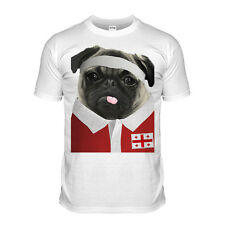 Georgia Rugby Tshirt Pug T-shirt Georgian World Cup Cute 2015 Shepherd Gray wolf