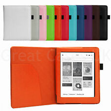 PU LEATHER SMART CASE COVER FOR ALL NEW KOBO AURA 2013 WITH SLEEP WAKE - UK POST