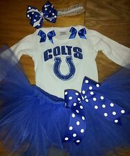 Indianapolis Colts tutu outfit, NFL, football, sizes nb-6
