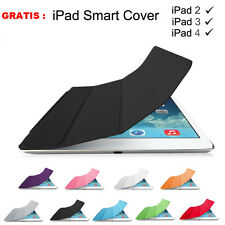For APPLE iPad Air 2 3 4 mini Magnetic Slim Leather Smart Cover Hard Back Case