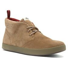 Clarks Tanner Mid Men's Sand Color Suede  Chukka Style #26102955