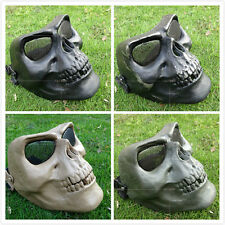 Outdoor Tactical Military Skeleton Full Face mask protect for hunting paintball