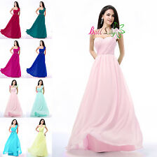 Clearance Girl's Dress Wedding Bridesmaid Formal Prom Dress Evening Party Gown