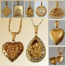 Allah Pendant Gold Chain Islam Muslim JEWELRY Necklace Necklace Allah Chain