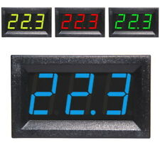 "0.56"" LED Mini Digital Voltmeter 3-30V Panel-Meter Spannungsanzeige Rot Blau"