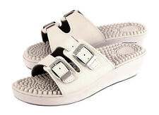 Women's Nurse Kitchen Chef Hospital Casual Mules Slip On Shoes Sandals Wedge