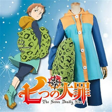 The Seven Deadly Sins King Grizzly's Sin of Sloth Cosplay Costume S-2XL