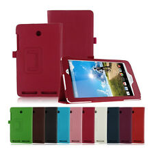 Stand Folio Leahter Cover Case w/Pen Holder For Acer Iconia A1-840 8-inch Tablet