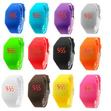 Unisex Watch Touch Screen LED Watch Cheap Price Ultra-thin Plastic Candy Color