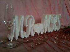 Mr & Mrs Sign - Mr and Mrs Letters - Wedding Ideas