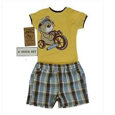 Baby Boys 2 Piece Clothes Set - Romper & Shorts - 000 & 00 - BNWT