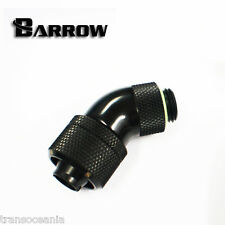 """Barrow G1/4"""" 45° Rotary Elbow 3/8"""" ID 5/8"""" OD Thick Tube Compression Fitting"""