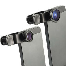 Universal Clip Fish Eye Macro Wide Angle Lens for iPhone 5 SE 6 7 Camera 3 in 1