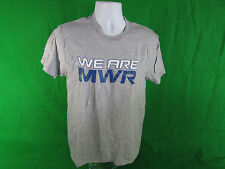 NASCAR Michael Waltrip We are MWR men's T-Shirt  By Chase Authentics
