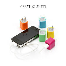 W Wall Charger For iPhone 5S iPod Touch Apple USB Pin Data Cable Cheap On Sale