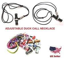Duck Call Whistle Calls Adjustable Lanyard Necklace