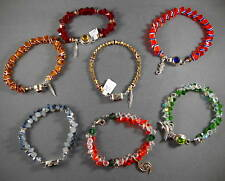 College Football Crystal Bracelets - Gators, Seminoles, Hurricanes, UNF, Georgia