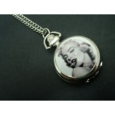Fashion Child Kids Women Ladies Girl Men Boy Necklace Pocket Watch