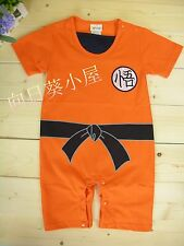 NWT Baby Summer Short Sleeve Clothes / Romper 0~36months - DRAGON BALL style