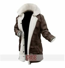 Sale on The Dark Knight Rises Tom Hardy Brown Distressed Bane Coat