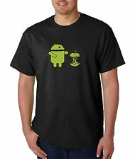 Android Ate Apple,100% cotton T-shirts