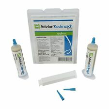 Syngenta Advion Roach Killer / Cockroach Gel Bait- with free Plunger and Tip!